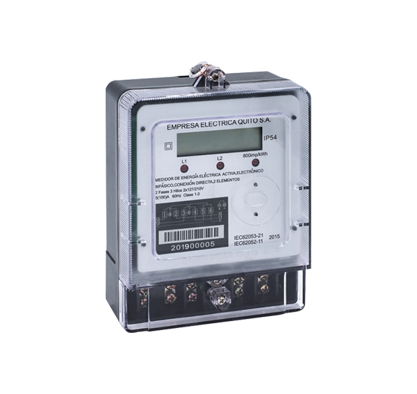 Two Phase Three Wire Electronic Active Energy Meter